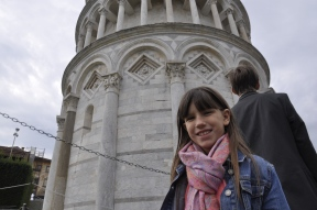 Mary in front of the Tower
